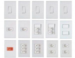 Interruptores e Tomadas marca Tramontina