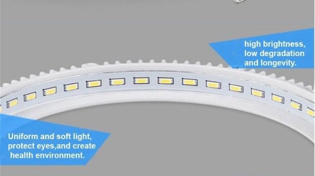 Iluminação de borda Edge Lit com fita LED